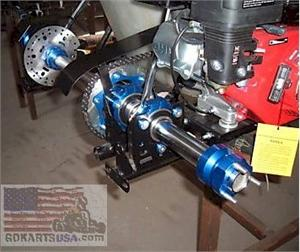 Road Rat Race Kart 40mm Axle