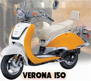 Verona 150 Moped Scooter
