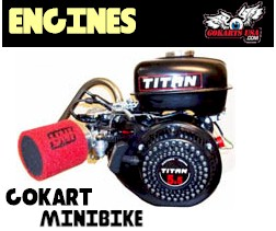 Titan Powersport Gokart Engines