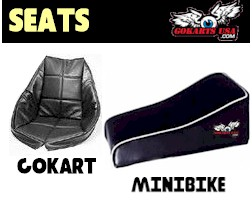 Gokart and Minibike Seats