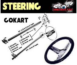 Gokart Steering Wheels