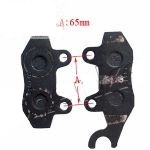 JCL MG250A FRONT BRAKE SHOES