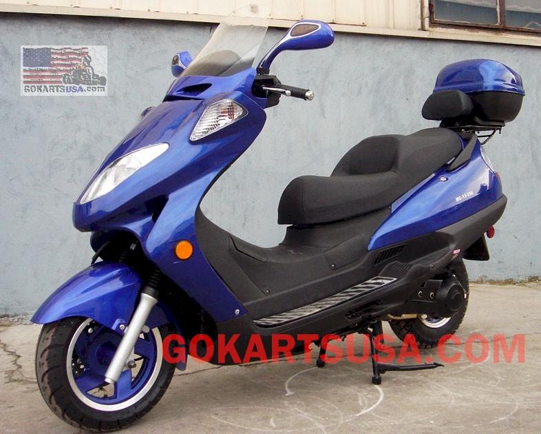 roketa mc 13 bali 150 moped scooter