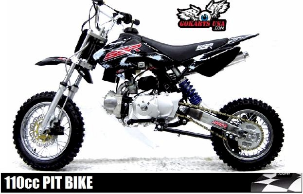 Pit Bikes 110cc Dirt Bike Kids Gokarts Usa