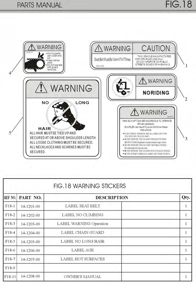 channel master wiring diagram trailmaster mini xrx xrs gokart warning labels and stickers  trailmaster mini xrx xrs gokart warning labels and stickers