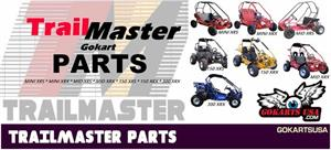 TrailMaster Go Kart Parts