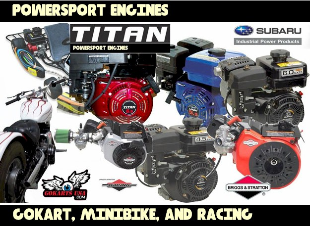 Gokart Engine and Minibike Engines : Go Kart Cart Gocart