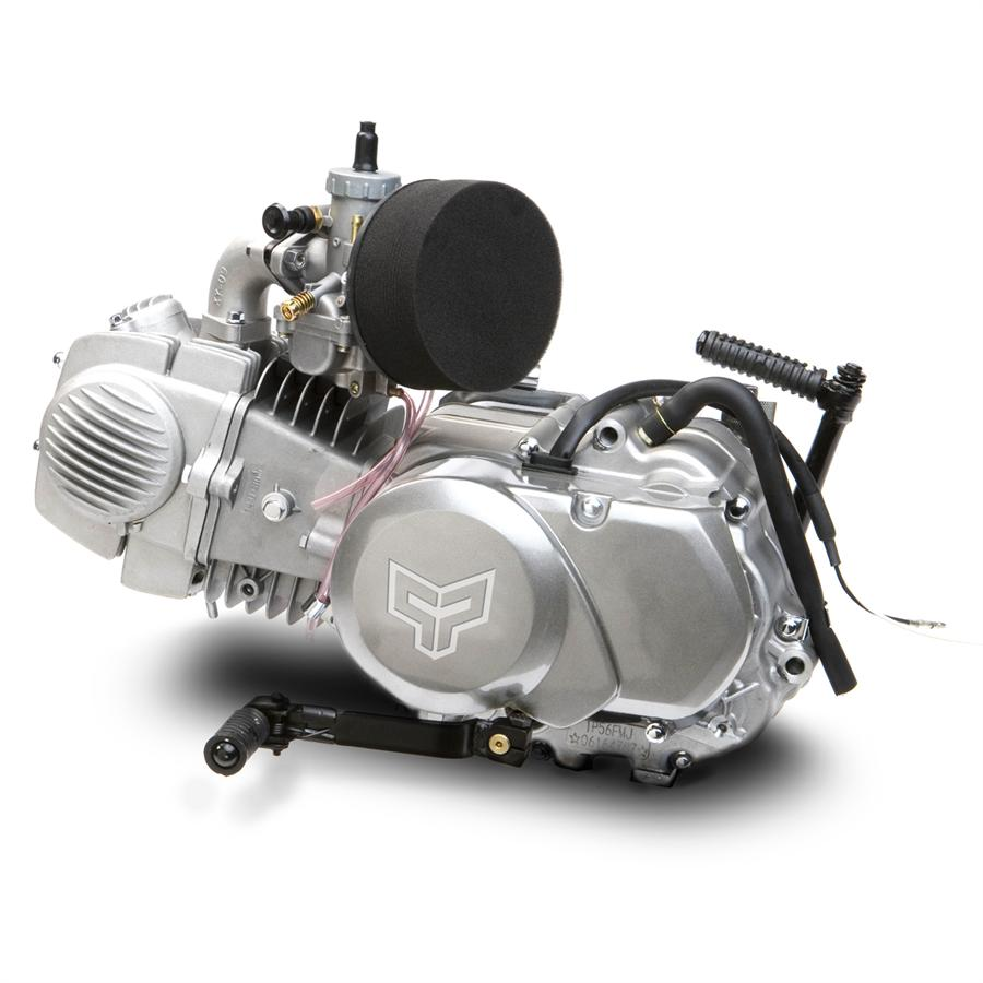 125cc dirt bike engine, kick start