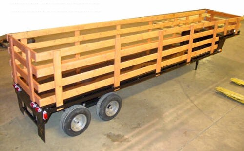 12' Drop Deck Trailer