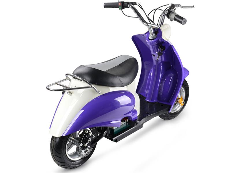 Electric Moped Scooter >> Electric Mini Moped Scooter 24v