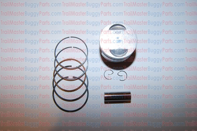 PISTON with Ring SET, for TrailMaster GY6 150 Buggy Go Kart Engine