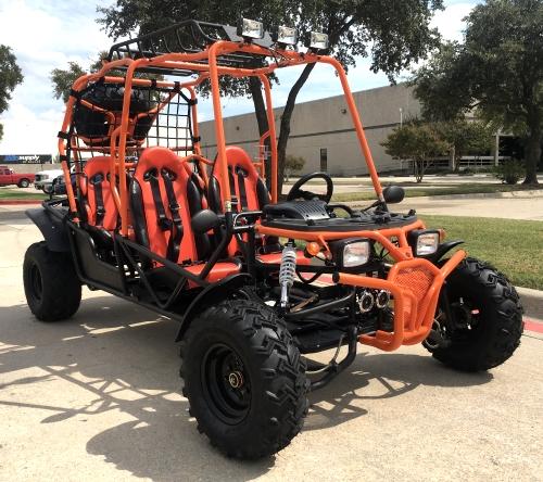 200GKG Go Kart, 4-Seater Buggy