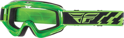 FOCUS GOGGLE GREEN W/CLEAR LENS
