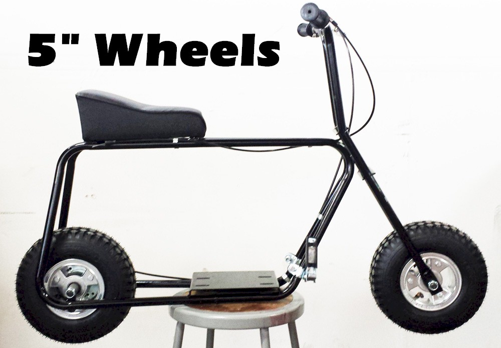 Mini Bike Kit | 5 inch Aluminum Mag Wheels - GoKarts USA
