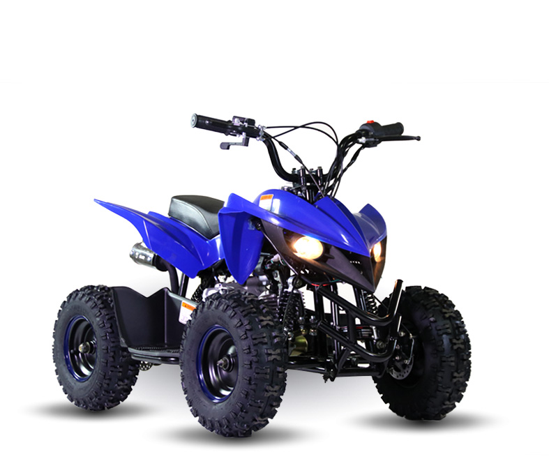 Kandi Mini Scorpion 60 Sport ATV (KD-60A-2), blue