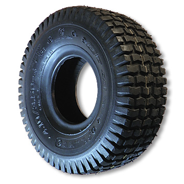 15-600 X 6 TURF TIRE, 4 PLY, 6.1 in. WIDE, 14.8 in. OD