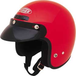 GMAX GM2 OPEN FACE HELMET, Red