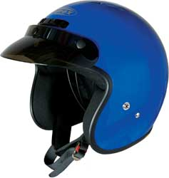 GMAX GM2 OPEN FACE HELMET, Blue