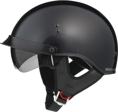 GMAX GM65 FULL DRESS HALF HELMET Black
