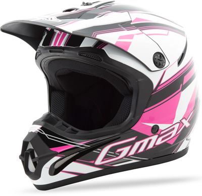 GM46.2X TRAXXION HELMET Black/Pink-White