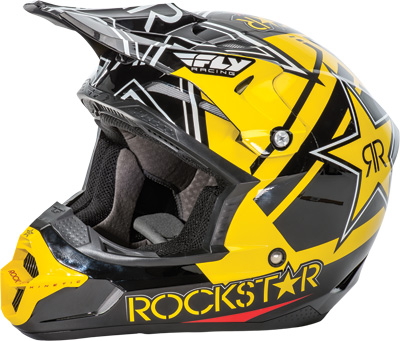 KINETIC PRO ROCKSTAR HELMET Black/Yellow