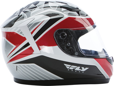 STREET CONQUEST MOSAIC HELMET White/Red/Black