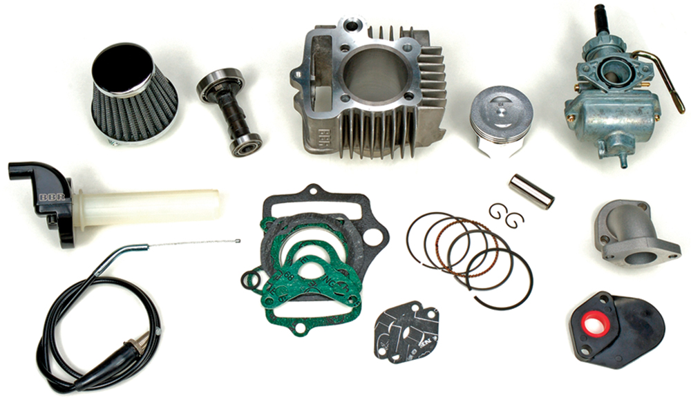 88CC FTP BIG BORE PISTON KIT
