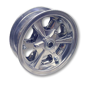 Mini Bike Wheel | 8 in. Spinner Aluminum | 3 in. wide