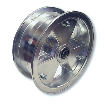 8 in. Rear Wheel with BRAKE and 60 TOOTH SPROCKET