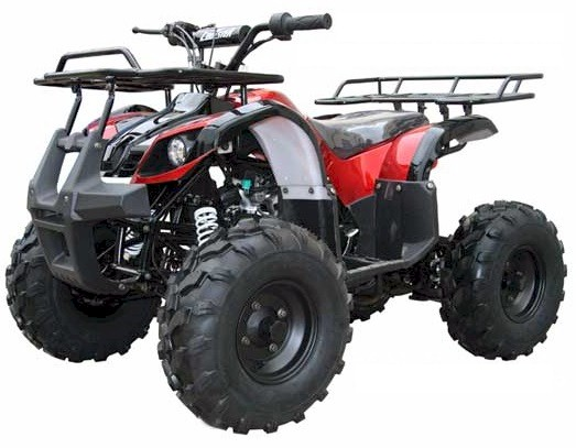Kodiak 125 ATV, 3-Speed Semi Automatic, with Reverse