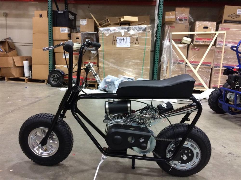 Mini Bike Stinger Exhaust Header, for Honda GX200, Titan, Predator