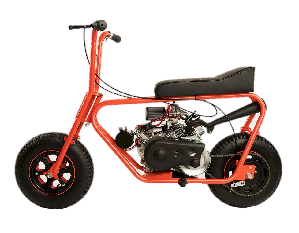 American Racer 215 Minibike with optional Mikuni Carb and Stinger Exhaust