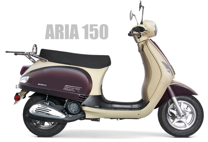 Aria 150 Moped Scooter