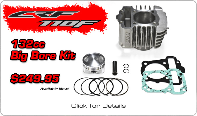 BIG BORE KIT 132CC CRF 110