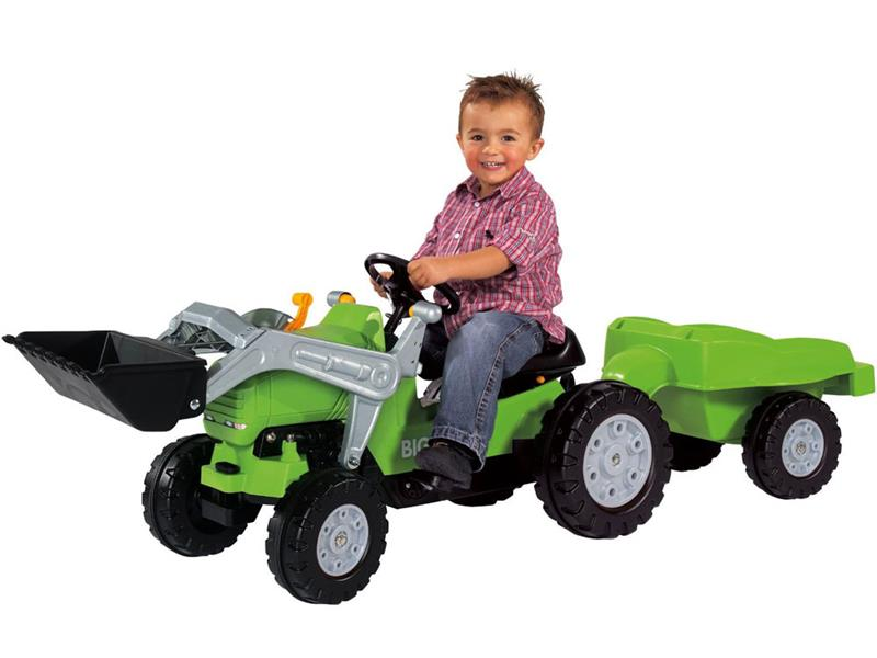 Kids Tractor, Big Jimmy Loader plus Trailer