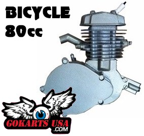 Bicycle Gas Engine