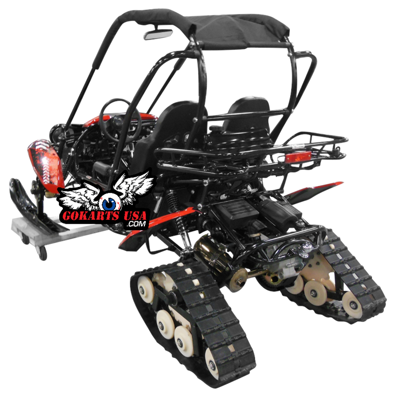 Snowmobile Conversion Kit for TrailMaster Buggy Go Karts