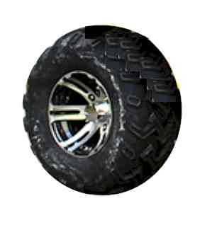 REAR WHEEL and TIRE