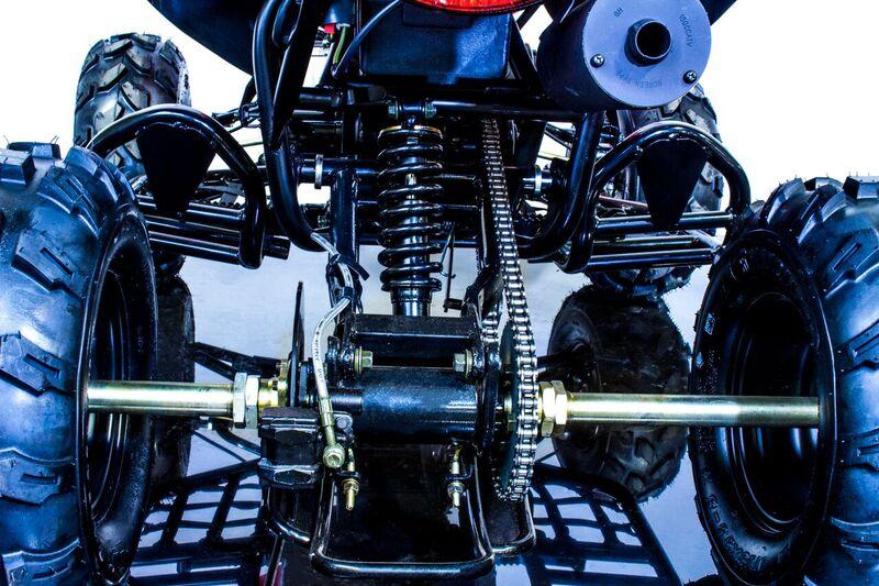 Blizzard 150 Sport ATV, Fully Automatic CVT Transmission with Reverse