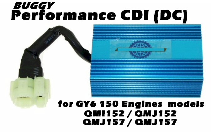 CDI for 150cc Buggy | GY6 | AC or DC