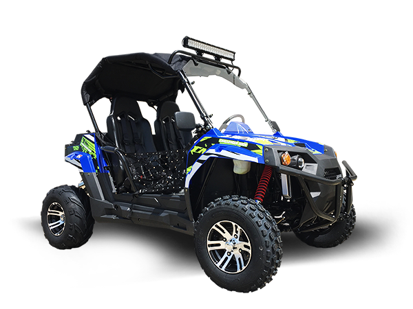 TrailMaster Challenger 300X UTV Side-by-Side, Shaft Drive