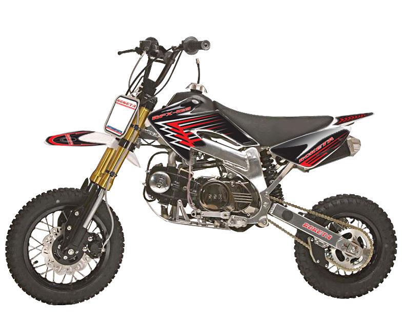 apollo 125 pit bike, 4-speed, manual dirt bike