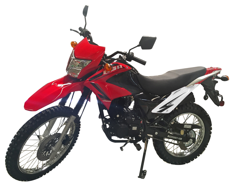 Apollo Enduro BSR 250 Motorcycle, 5-Speed Manual Clutch