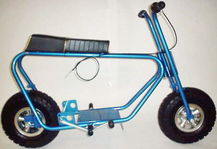 restored bonanza mini bike - Mini Bike Frames For Sale