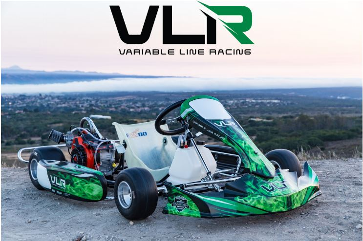 Emerald LO206 Adult Race Go Kart, Chassis only, less engine and tires
