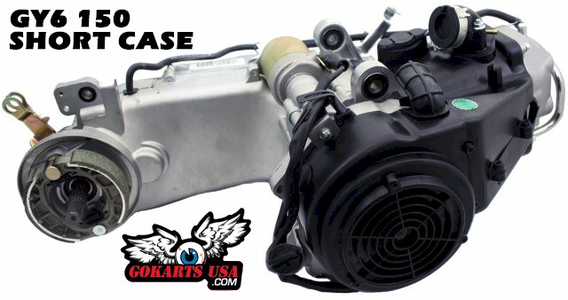 150cc Gy6 Replacement Engine Short Case