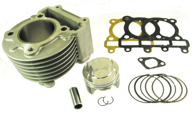 GY6 155cc (58.5mm) Big Bore Cylinder Kit