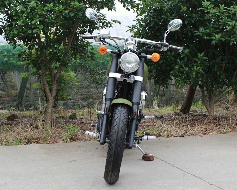 Ghost Rider 250 Motorcycle, 5-Speed Manual