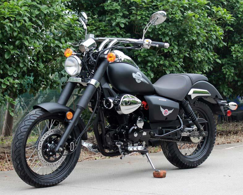ghost motorcycle chopper 250cc venom 250 mini rider bike street cruiser rtr manual speed bobber retro legal df scale renegade
