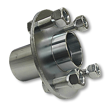 Adapter Hub, Zinc Plated Steel, without cup and cone